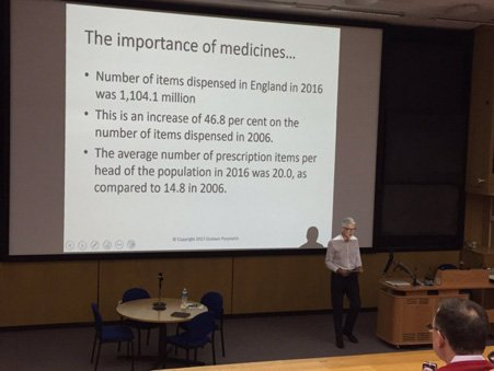 Me & My Medicines at the Leeds Teaching Hospitals Grand Round