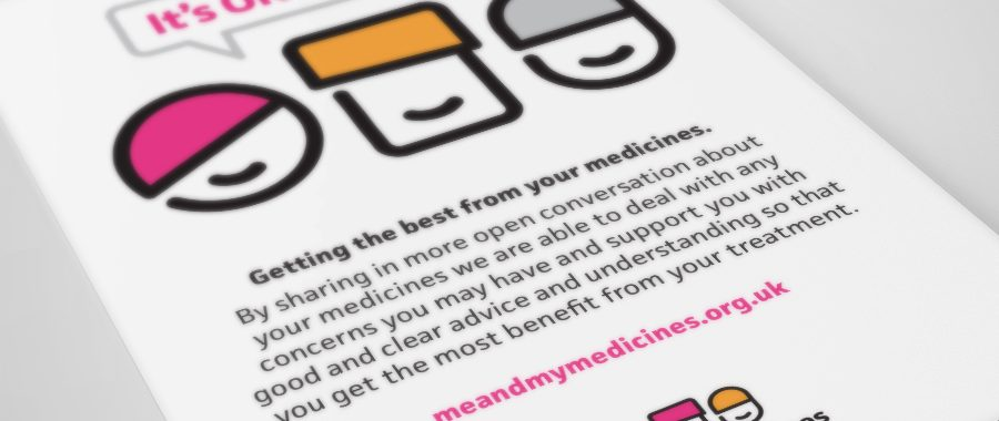 Me and My Medicines campaign is officially live